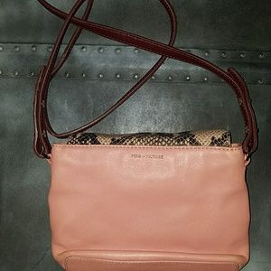 Pour La Victoire leather small bag